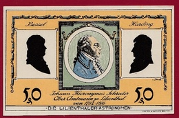 Allemagne 1 Notgeld 50 Pfenning  Stadt Lilienthal (SERIE COMPLETE)  Dans L 'état N °5342 - Collections