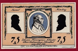 Allemagne 1 Notgeld 75 Pfenning  Stadt Lilienthal (SERIE COMPLETE)  Dans L 'état N °5343 - Collections