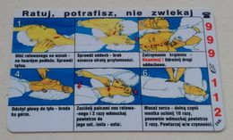 Poland Pologne Cracow Cracovie 3-month Ticket Billet 3 Mois First Aid Premiers Secours 2004 - Europa