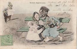 SCENES ALGERIENNES  -  Humour -   Le Turco Et La Nourrice.vu Par Assus  Pas Courante - Algeria