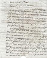 1826 SOURNIA (66) L.A.S. TISSEYRE Cadet à MM. VERNAZOBRES Frères De BEDARIEUX - Historische Dokumente