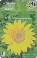 Laos - LTC - M-Phone - Flower #1, Exp.31.12.2004, Remote Mem. 100.000₭, Used - Laos