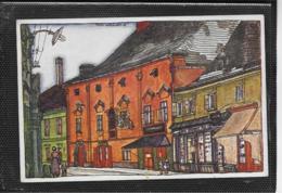 AK 0387  Neunkirchen - Triesterstrasse / Künstlerkarte Von Fritz Weninger Um 1910-20 - Neunkirchen