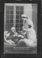 AK 0387  Lazarett - Bald Wird Sich Alles Zum Guten Wenden / Genesung Um 1916 - Guerre 1914-18