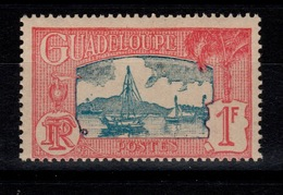 Guadeloupe - YV 114 N** Gomme Coloniale - Guadeloupe (1884-1947)