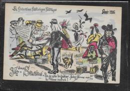 AK 0387  La Gemaine Satirique Politique - Année 1906 - Humor