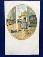 "Cpa--""Enfants Scène Mignonne""-Pauli Ebner (my Ref PE28)-1923 - Ebner, Pauli"