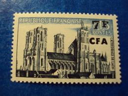 """CFA - à Partir De 1961  - Neuf  N° 347 Charnière        """"  Cathédrale De Laon       """"      Net 0.30 - Neufs"""