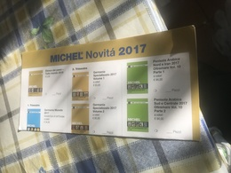 CARTOLINA MICHEL NOVITA' - Libri, Riviste, Fumetti