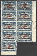 5Rb-951:  9x OC 31B In Blok V9 : Postfris - 1916-22: Neufs