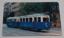 Poland Pologne Cracow Cracovie 3-month Ticket Billet 3 Mois Tramway Tram SN2  2005 - Season Ticket