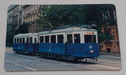 Poland Pologne Cracow Cracovie 3-month Ticket Billet 3 Mois Tramway Tram SN2  2005 - Week-en Maandabonnementen