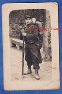 CPA Photo - SAINT BRIEUC - Portrait Du Poilu Fernand PIMPAUD Mitrailleur 154e & 155e Régiment Uniforme Fusil Soldat WW1 - Guerre 1914-18