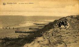 CPA - Belgique - Knokke - Knocke - Le Zoute - Les Dunes Vers La Hollande - Knokke