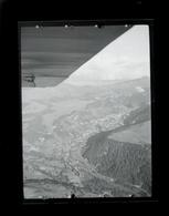 Negatif Photo Ancienne - Vue Aerienne Ville A Identifier - Lieux