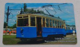 Poland Pologne Cracow Cracovie 1-month Ticket Billet 1 Mois  Tramway Tram LH  2006 - Week-en Maandabonnementen