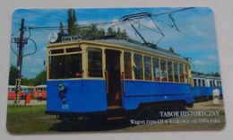 Poland Pologne Cracow Cracovie 3-month Ticket Billet 3 Mois  Tramway Tram LH  2006 - Europa