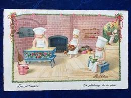 "Cpa--Les Pâtissiers""-Pauli Ebner (my Ref PE39) - Ebner, Pauli"