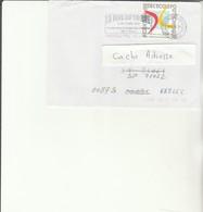 G 1 - Enveloppe Adresse Rectifiée Pour Prévôt  BPM  N° 656 - THIONVILLE - Marcofilie (Brieven)