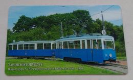 Poland Pologne Cracow Cracovie 1-month Ticket Billet 1 Mois  Tramway Tram N ND  2004 - Week-en Maandabonnementen