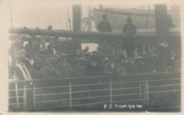 UK / Nederland - Rotterdamsche Lloyd - Foto Passengers SS Tambora - Sent From Southampton Naar Roermond - Dampfer