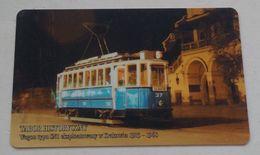 Poland Pologne Cracow Cracovie 1-month Ticket Billet 1 Mois  Tramway Tram SN1  2006 - Week-en Maandabonnementen