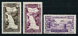 Gran Líbano (Francés) Nº A-97-98-99**/* Cat.27,20€ - Great Lebanon (1924-1945)