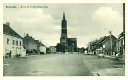 Booischot - Kerk En Gemeenteplaats - 1963 - Heist-op-den-Berg