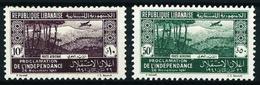 Gran Líbano (Francés) Nº A-80/1 Nuevo*/(*) - Great Lebanon (1924-1945)