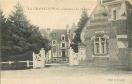 "14 - LA CHAPELLE YVON - Le Chateau - Timbre ""La Marseillaise"" - Other Municipalities"