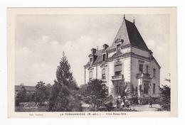 49 La Possonnière Vers Chalonnes Sur Loire Villa Beau Site Homme Avec Chien édit Vaillant M. Chrétien Et Fils Angers - Chalonnes Sur Loire