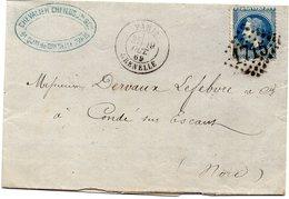 Seine - LAC Affr N° 29B (déf) Obl GC 1715  C 17 Paris Grenelle - Marcophilie (Lettres)