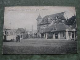 DUINBERGEN - HOTEL DE LA STATION 1921 ( Tram ) - Heist