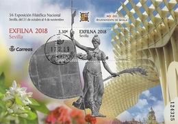 2018-ED. 5264 H.B. Exfilna 2018. Sevilla -USADO - 1931-Hoy: 2ª República - ... Juan Carlos I