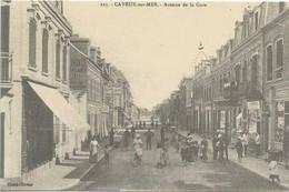 CAYEUX Sur MER : Avenue De La Gare - Cayeux Sur Mer