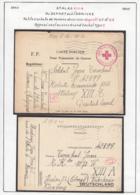 Belgique  Stalag XIII A- Au Départ Ou à L'arrivée- Petit Cachets De Formes Diverses Geprüft D5 Et D9..  (VG) DC5286 - WW II