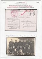 Belgique 1943 Stalag XIII A- Marque De Routage. Petit Cachet Rectangulaire-cadre De 35x6,5........ (VG) DC5292 - WW II