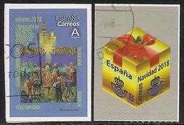 2018-ED. 5259 Y 5260 COMPLETA- NAVIDAD. CABALGATA DE LOS REYES MAGOS DEL ATENEO DE SEVILLA. PAQUETE DE REGALO -USADO - 1931-Hoy: 2ª República - ... Juan Carlos I