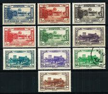 Gran Líbano (Francés) Nº A-65/74**/*/º Cat.32,60€ - Great Lebanon (1924-1945)