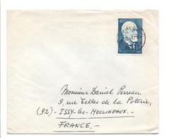 BELGIQUE LETTRE POUR LA FRANCE 1967 - België