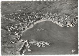 CPSM BANYULS SUR MER - Vue Aérienne ( Cliché Robert Durandaud ) - Ed. CAP N°112 - Banyuls Sur Mer