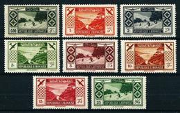 Gran Líbano (Francés) Nº A-49/56*/** Cat.200€ - Great Lebanon (1924-1945)