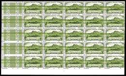 ** N°137, Salazie 65c Olive, Superbe Variété D'essuyage Sur Panneau De 25 Exemplaires. R.R. (certificat)  Qualité: ** - Réunion (1852-1975)