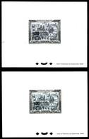 (*) N°51, 500F Sur 1000F Paris: 2 épreuves De Luxe: Sur Papier Bleu Et Papier Blanc. TTB (certificat)  Qualité: (*)  Cot - Réunion (1852-1975)
