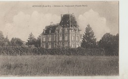 Cpa ( 78 Yvelines) Achères , Chateau Du Picquenard (facade Nord) - Acheres