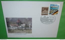 BUND BRD Brief Cover 12103 Berlin Zentrum - Maueröffnung 10. Jahrestag - Ausstellung Staaken 09.11.1999 (2 Foto)(35839) - Cartas