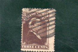 TERRE-NUEVE 1890-4 O - Newfoundland