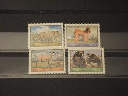 AFGHANISTAN - 1974 ANIMALI 4 VALORI - NUOVI(++) - Afghanistan