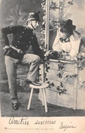 Militaria - Soldat - Femme En Costume - Armée Suisse - Guggenheim Zürich - 1903 - Sonstige