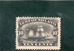 TERRE-NUEVE 1890-4 * - Newfoundland